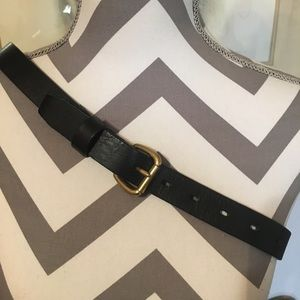 J. Crew Genuine Italian Leather Belt